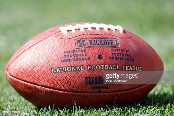 September 2008 - Special Wilson football with the Kickoff 2008 logo was used by the Dallas Cowboys during the Cowboys 28-10 win over the Cleveland...