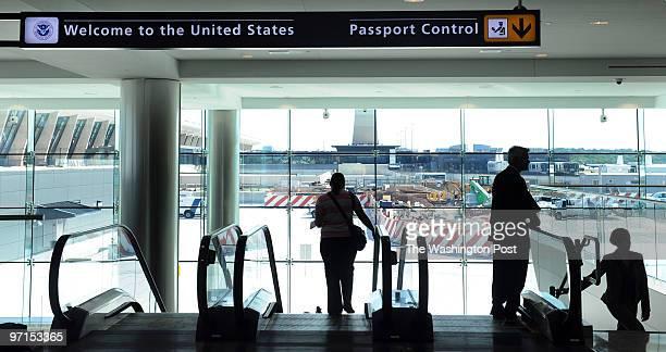 September 2009 CREDIT Katherine Frey / TWP Dulles VA New international terminal at Dulles opening tomorrow The new international terminal at Dulles...