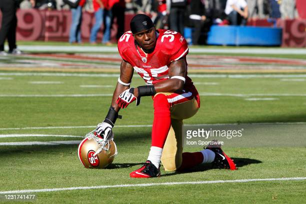 San Francisco 49ers cornerback Phillip Adams during the NFL regular season game between the New Orleans Saints and the San Francisco 49ers at...