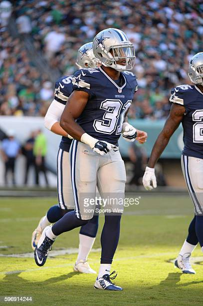 Dallas Cowboys cornerback Byron Jones during a NFL game between the Dallas Cowboys and the Philadelphia Eagles at Lincoln Financial Field in...