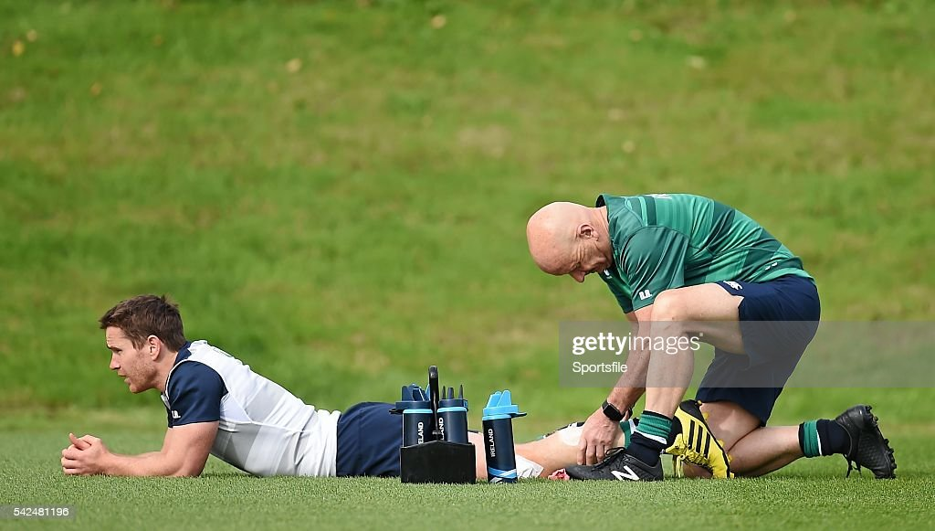 Ireland Rugby Squad Training - 2015 Rugby World Cup : News Photo
