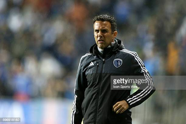 Kansas City assistant coach Kerry Zavagnin The Philadelphia Union hosted Sporting Kansas City at PPL Park in Chester Pennsylvania in the 2015 Lamar...
