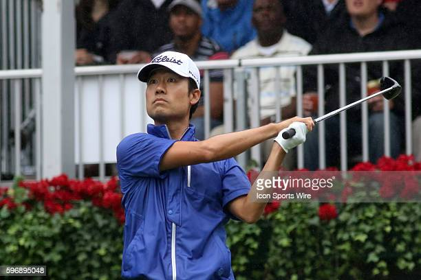 Kevin Na during the third round of the 2015 Tour Championship at East Lake Golf Club in Atlanta, Georgia. After round 3, Jordan Spieth leads with a...