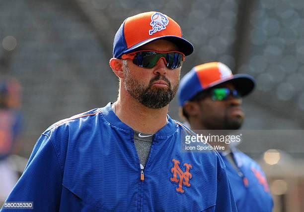 01 September 2015 New York Mets Left Fielder Michael Cuddyer [2799] before the game against the Philadelphia Phillies and the New York Mets The game...