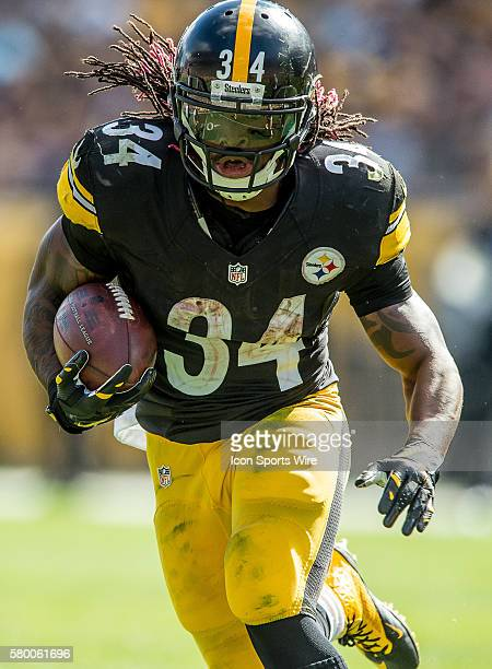 Pittsburgh Steelers Running Back DeAngelo Williams [7710] in action during a game between the San Francisco 49ers and the Pittsburgh Steelers at...