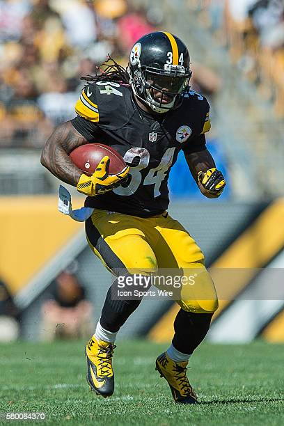 Pittsburgh Steelers Running Back DeAngelo Williams [7710] runs with the football in action during a game between the San Francisco 49ers and the...