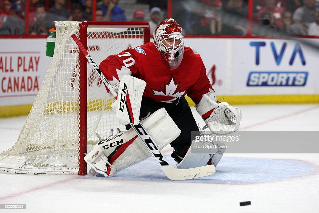 HOCKEY: SEP 10 World Cup of Hockey Pre-Tournament - Team Canada v Team USA : Photo d'actualité