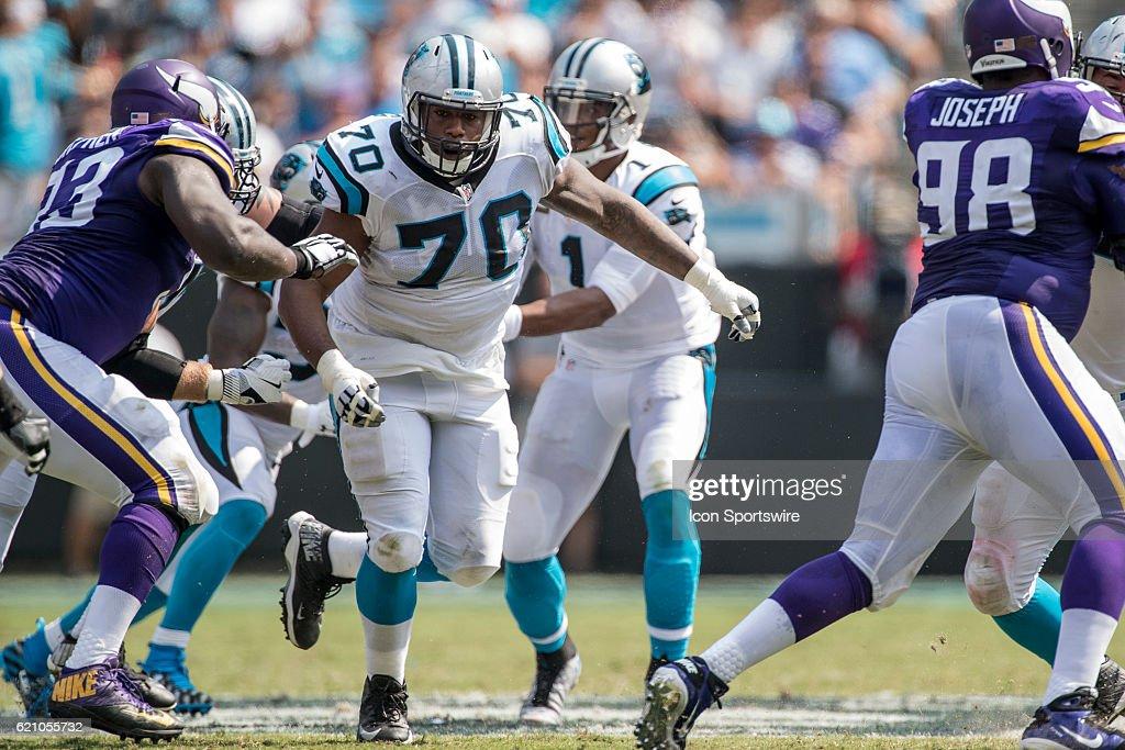 NFL: SEP 25 Vikings at Panthers : News Photo
