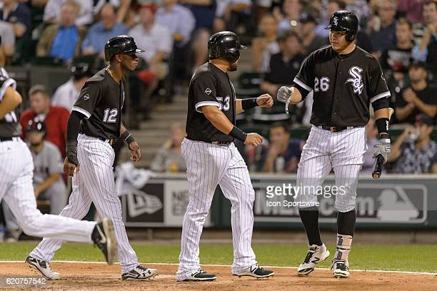 Chicago White Sox Shortstop Tim Anderson [10462], Chicago White Sox Left field Melky Cabrera [4981], and Chicago White Sox Outfield Avisail Garcia...