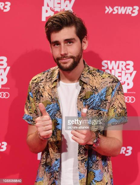 13 September 2018 BadenWuerttemberg BadenBaden Singer Alvaro Soler arriving to the recording of the TV show 'SWR3 New Pop Festival Das Special' in...