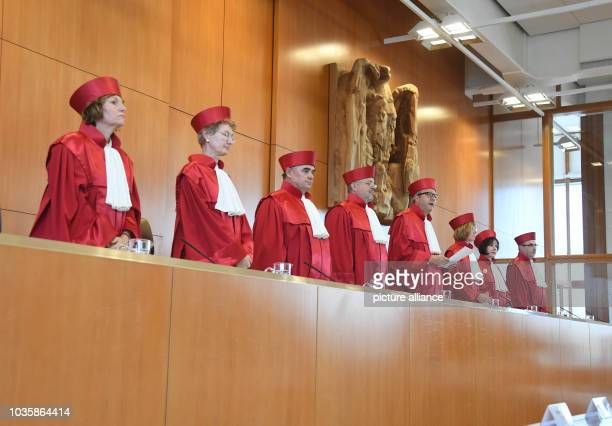 19 September 2018 BadenWuerttemberg Karlsruhe The Second Senate of the Federal Constitutional Court Christine Langenfeld Doris König Peter Müller...