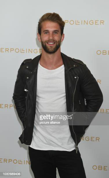 The model Andre Hamann can be seen at the Grand Opening of Munich's new splendid mile in the Oberpollinger Photo Felix Hörhager/dpa