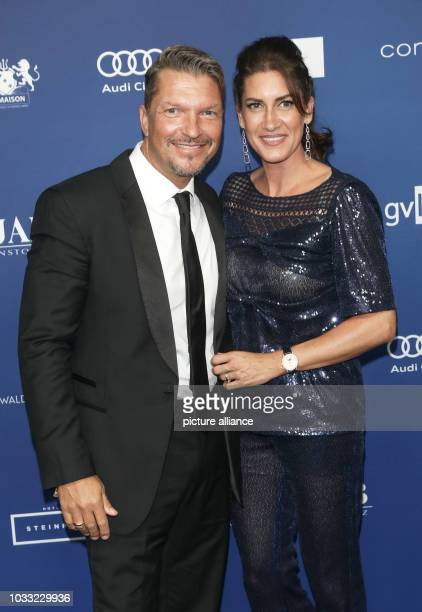 14 September 2018 Germany Berlin Hardy Krueger Jr with his wife Alice Roessler are awarded the German Acting Prize With the Acting Prize which is...