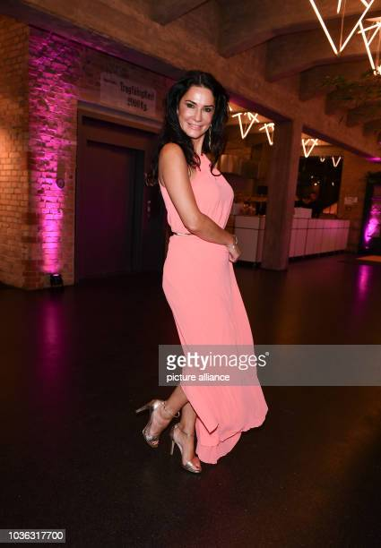Mariella Ahrens is coming to the charity gala 'Dreamball' at the Westhafen Event Convention Center Donations are collected for girls and women...