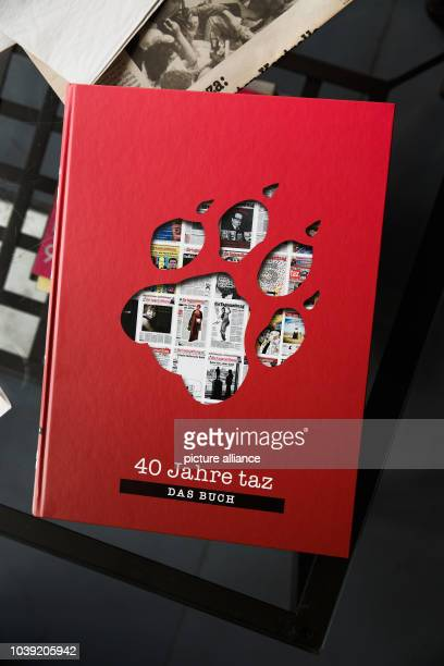 September 2018, Berlin: The book for the 40th anniversary of the taz- die tageszeitung. Die Tageszeitung is a national German daily newspaper. It was...