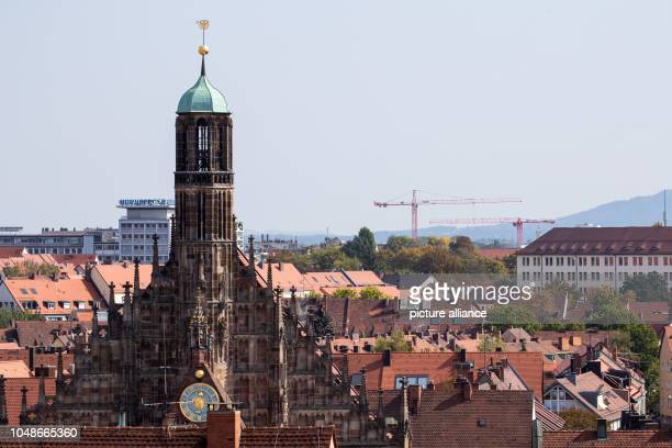 View of the catholic Frauenkirche Photo Daniel Karmann/dpa