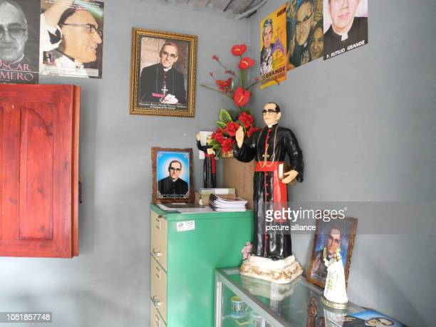 13 September 2018 El Salvador San Salvador 13 September 2018 El Salvador San Salvador Souvenirs of the former Archbishop of San Salvador Óscar Romero...