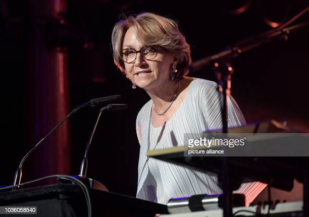 September 2018, Hamburg: Anne-Marie Descotes, French Ambassador to Germany, speaks at the opening of the Reeperbahn Festival. France is this year's...