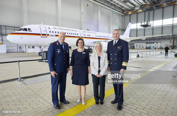 General Ingo Gehartz Chief of Staff of the German Air Force Constanze Hufenbecher Lufthansa Technik Executive Vice President Finance Corporate...