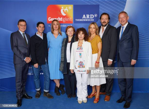 Volker Herres Program Director First German Television Christoph Bach Alwara Höfels Imogen Kogge Maria Ketikidou Anneke Kim Sarnau Charly Hübner all...