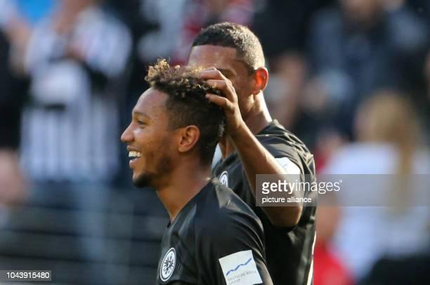 September 2018, Hessen, Frankfurt_Main: Soccer: Bundesliga, Eintracht Frankfurt - Hannover 96, 6th matchday in the Commerzbank-Arena. Jonathan de...