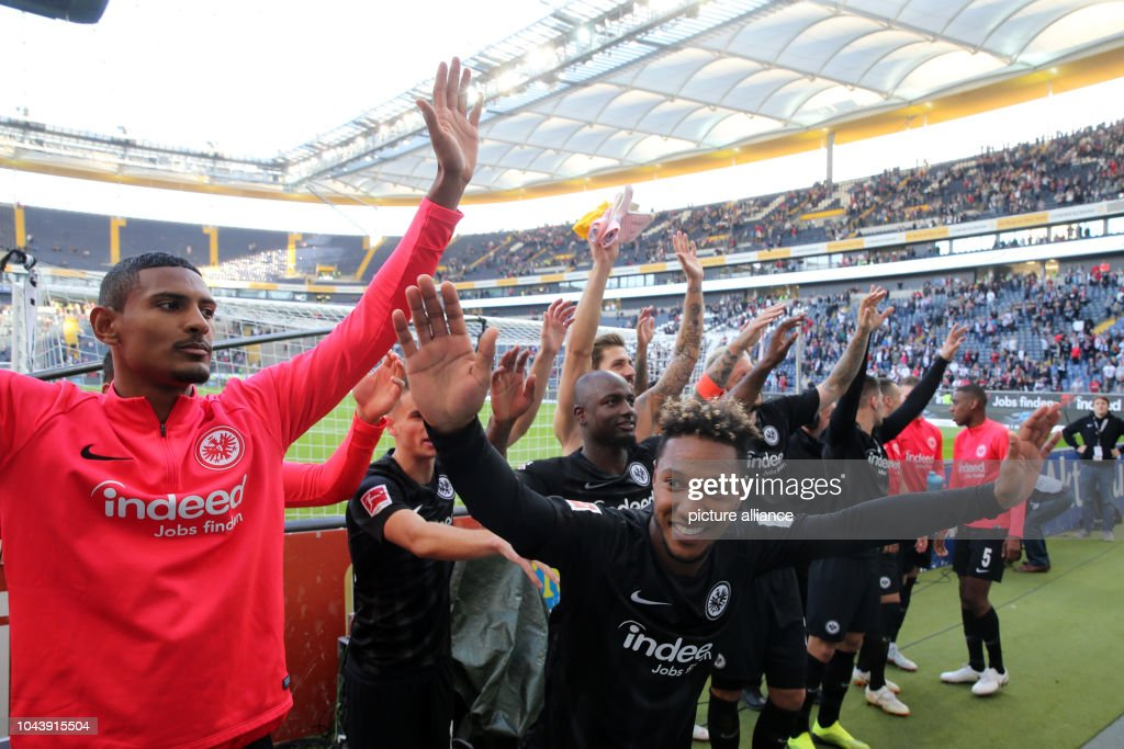 Eintracht Frankfurt vs. Hanover 96 : News Photo