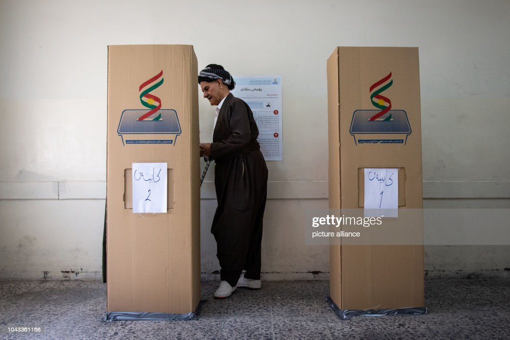 Parliamentary elections of the Kurds in Northern : News Photo