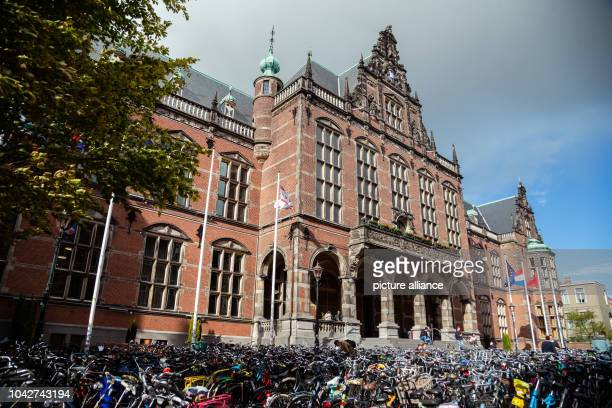 24 September 2018 Netherlands Groningen Picture of the building of the University of Groningen Photo Mohssen Assanimoghaddam/dpa