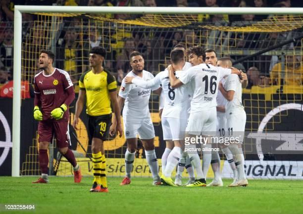 September 2018, North Rhine-Westphalia, Dortmund: Soccer: Bundesliga, Borussia Dortmund - Eintracht Frankfurt, Matchday 3 at Signal Iduna Park....