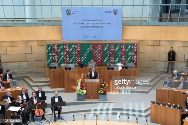 September 2018, North Rhine-Westphalia, Duesseldorf: Armin Laschet , Prime Minister of North Rhine-Westphalia, will address the North...