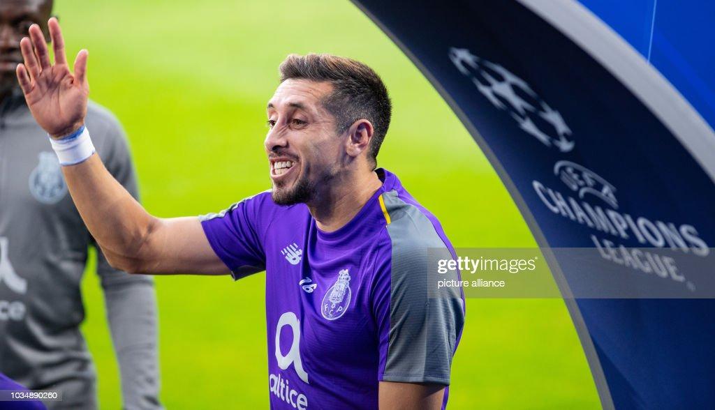 Soccer: FC Porto final training ahead of Champions League : News Photo