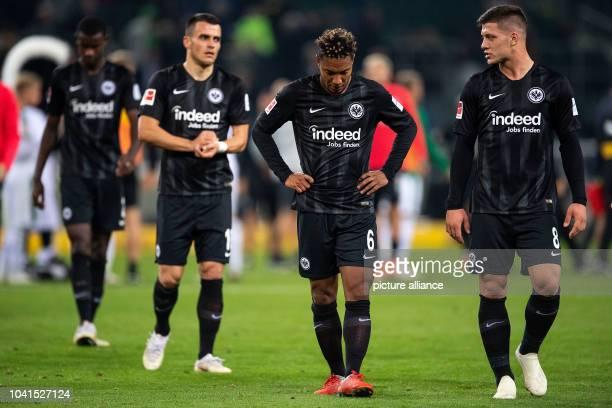 September 2018, North Rhine-Westphalia, Moenchengladbach: Soccer: Bundesliga, Borussia Mönchengladbach - Eintracht Frankfurt, 5th matchday in...