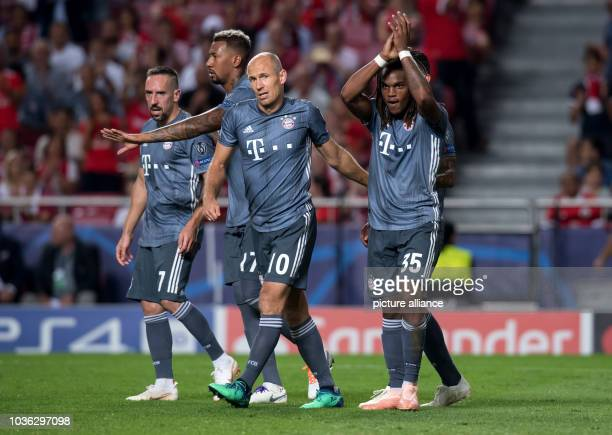 September 2018, Portugal, Lissabon: Soccer: Champions League, Benfica Lisbon - Bayern Munich, Group stage, Group E, Matchday 1 at Estadio da Luz....