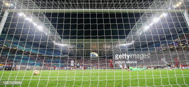 Soccer Europa League Group stage Matchday 1 RB Leipzig RB Salzburg Salzburg player Fredrik Gulbrandsen scores for 23 Photo Jan...