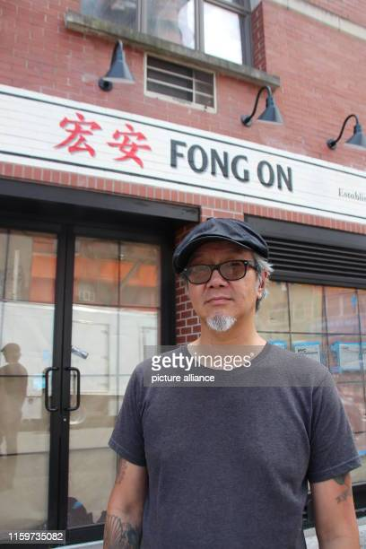 September 2018, US, New York: Paul Eng stands in front of his tofu store in Chinatown. The neighborhood is high on the list of sights of almost all...