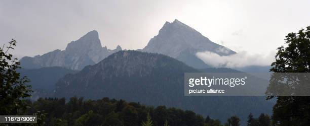 11 September 2019 Bavaria Berchtesgaden Clouds and sun surround the Watzmann With warm temperatures the summer goes into the last round Photo Felix...