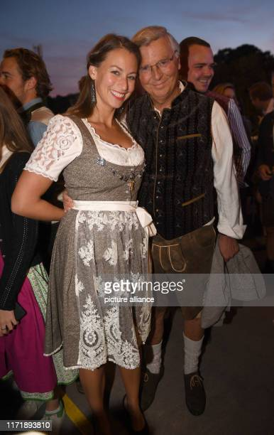 Attorney Wolfgang Bosbach and Caroline Bosbach celebrate in the Käfer tent The largest folk festival in the world lasts until 6 October Photo Felix...