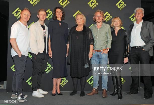 The actors Simon Schwarz Timur Bartels the managing director NBC Universal Katharina Behrends the actress Doris Kunstmann the director Michael...