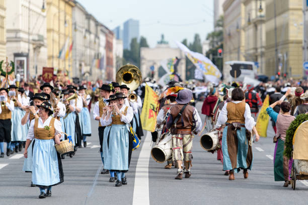 DEU: Oktoberfest 2019 - Traditional Costume Parade