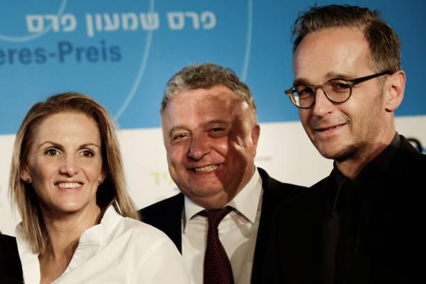 DEU: German Foreign Minister Heiko Maas Awards Shimon Peres Prize