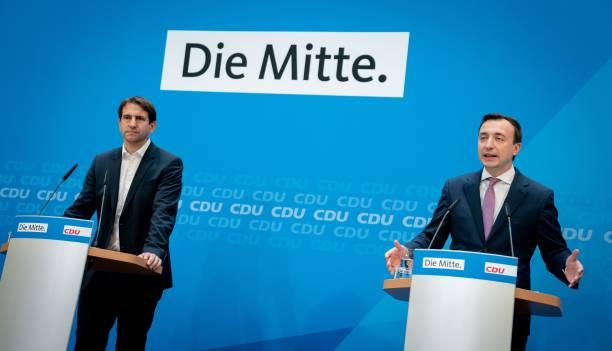 DEU: CDU Federal Executive Committee Meeting