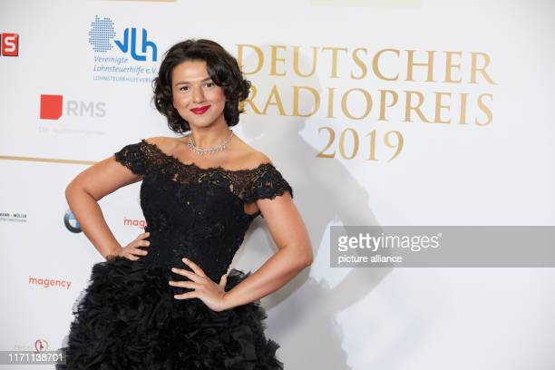 Khatia Buniatishvili pianist comes to the Elbphilharmonie for the 10th award of the German Radio Prize Photo Georg Wendt/dpa