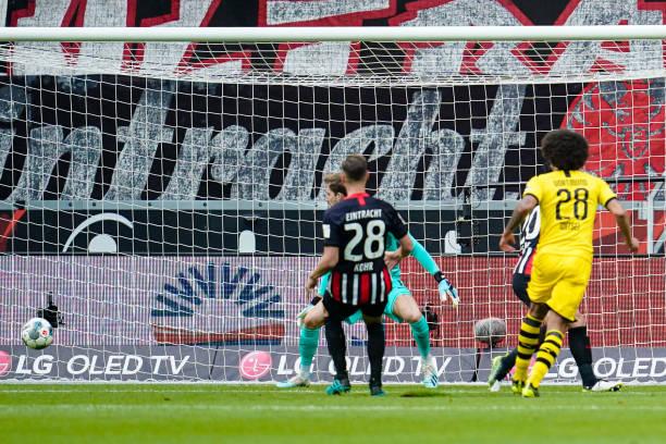 DEU: Bundesliga Eintracht Frankfurt - Borussia Dortmund