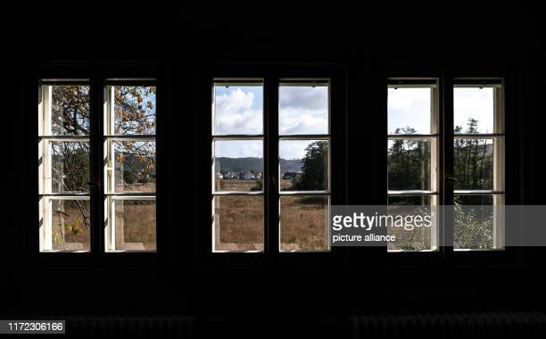 18 September 2019 Hessen LahntalGoßfelden View from the Ubbelohde house The more than 100yearold Künstlerhaus in the middle of Hesse is now serving...