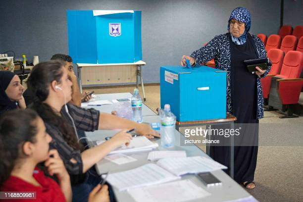 A woman casts her vote during the Israeli parliamentary elections Photo Oren Ziv/dpa