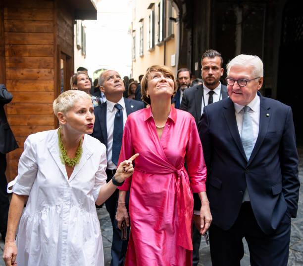 ITA: German President Steinmeier In Italy