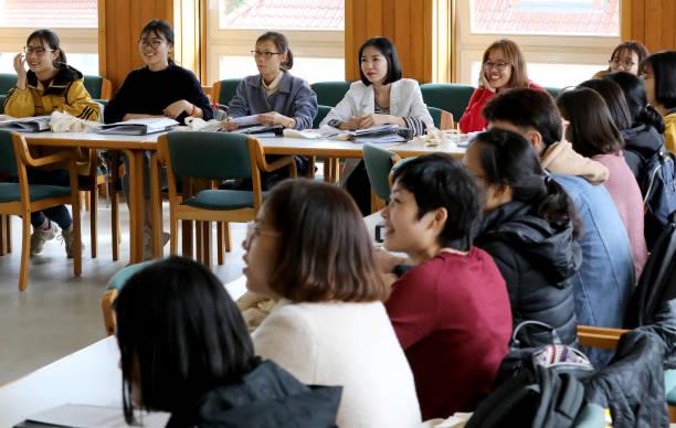 DEU: Vietnamese Nursing Trainees At University Hospital