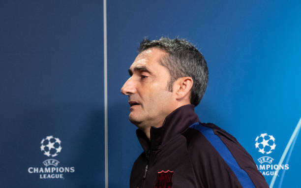 DEU: Press Conference FC Barcelona