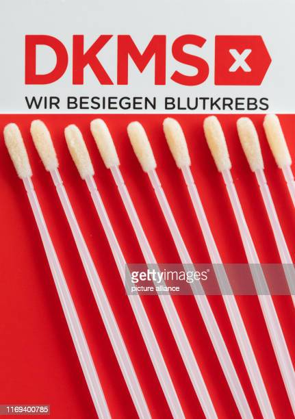 Medical cotton swabs for the removal of cells from the buccal mucosa can be found on a brochure of the German bone marrow donor database in the DKMS...