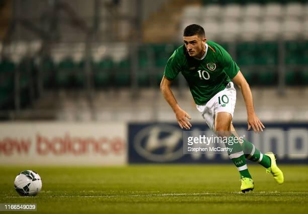 September 2019 Troy Parrott of Republic of Ireland during the UEFA European U21 Championship Qualifier Group 1 match between Republic of Ireland and...